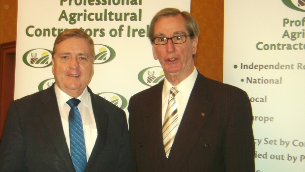 Minister Breen Visits PAC Stand