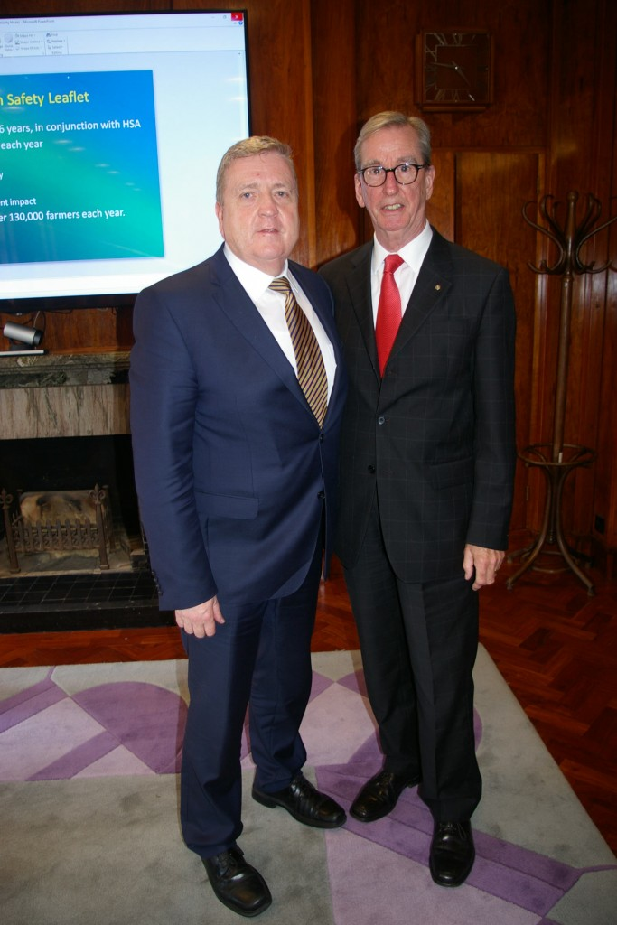 Minister Breen with PAC Ireland's Tom Murphy