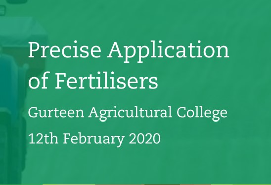 Teagasc – Precise Application of Fertilisers