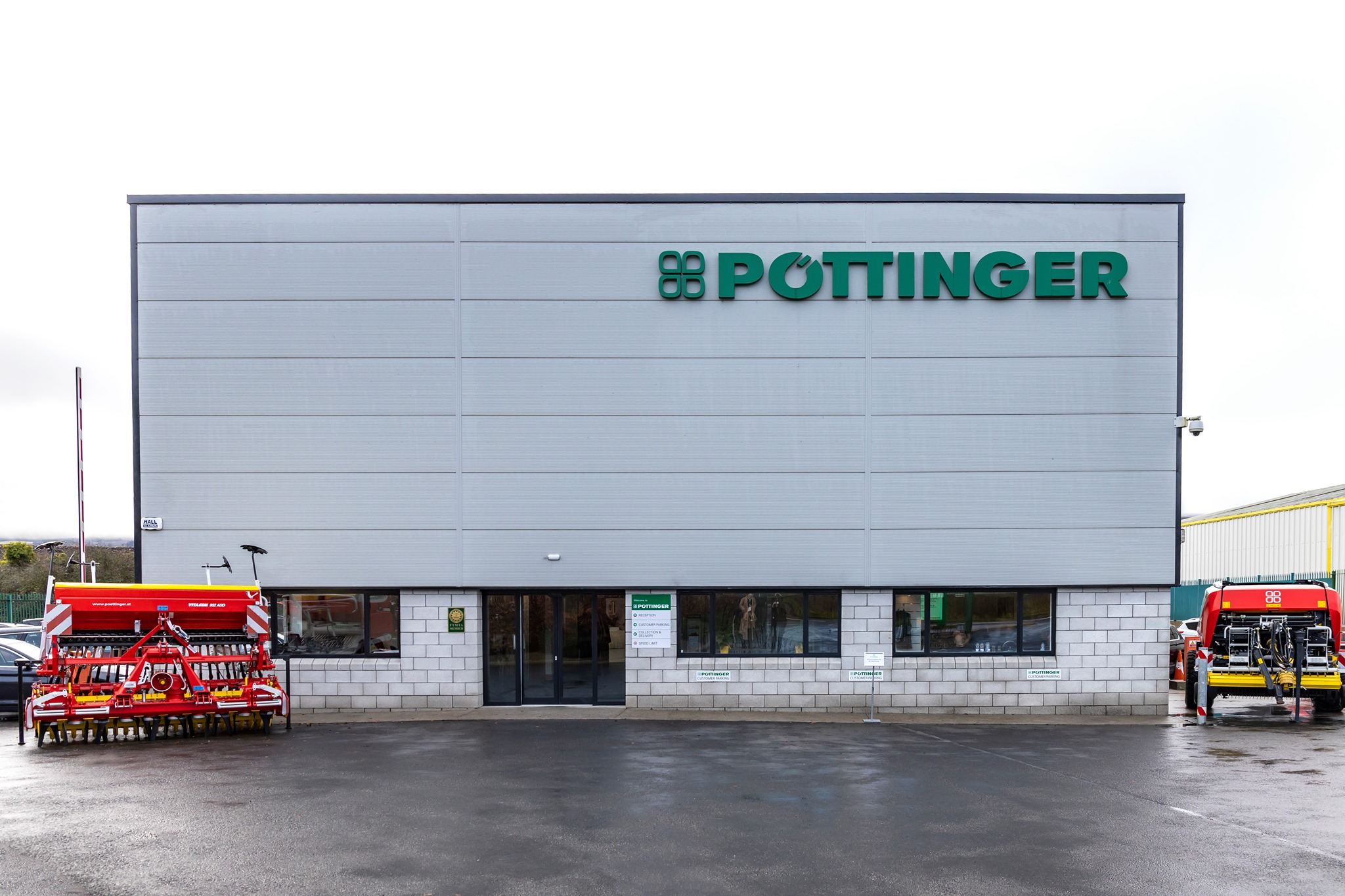 PÖTTINGER Ireland – New Irish Headquarters